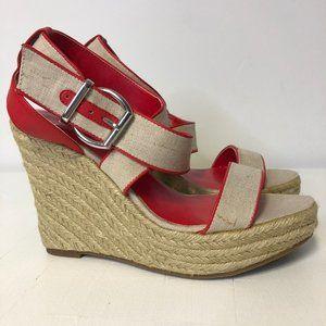 Jessica Simpson Strappy Espadrille Wedge Sandals
